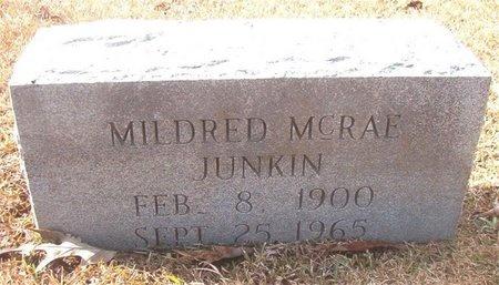 JUNKIN, MILDRED - Union County, Arkansas | MILDRED JUNKIN - Arkansas Gravestone Photos