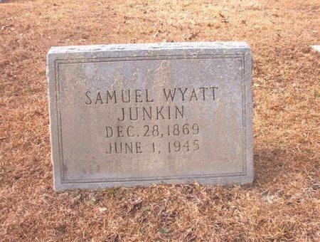 JUNKIN, SAMUEL WYATT - Union County, Arkansas   SAMUEL WYATT JUNKIN - Arkansas Gravestone Photos