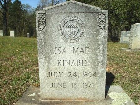 KINARD, ISA MAE - Union County, Arkansas | ISA MAE KINARD - Arkansas Gravestone Photos