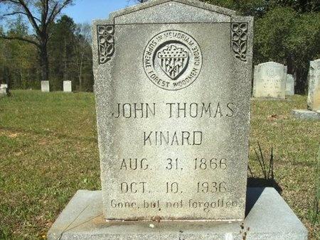 KINARD, JOHN THOMAS - Union County, Arkansas | JOHN THOMAS KINARD - Arkansas Gravestone Photos