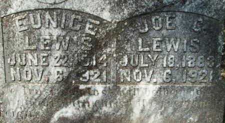 LEWIS, EUNICE (CLOSEUP) - Union County, Arkansas | EUNICE (CLOSEUP) LEWIS - Arkansas Gravestone Photos