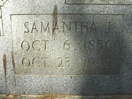 WALKER LUCKY, SAMANTHA JANE (CLOSEUP) - Union County, Arkansas | SAMANTHA JANE (CLOSEUP) WALKER LUCKY - Arkansas Gravestone Photos