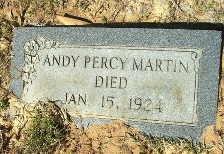 "MARTIN, ANDREW PERCY ""ANDY"" - Union County, Arkansas   ANDREW PERCY ""ANDY"" MARTIN - Arkansas Gravestone Photos"