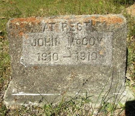 MCCOY, JOHN - Union County, Arkansas | JOHN MCCOY - Arkansas Gravestone Photos