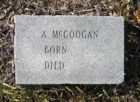 MCGOOGAN, A - Union County, Arkansas | A MCGOOGAN - Arkansas Gravestone Photos