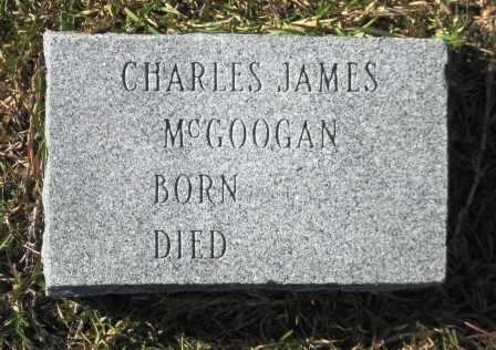 MCGOOGAN, CHARLES JAMES - Union County, Arkansas   CHARLES JAMES MCGOOGAN - Arkansas Gravestone Photos