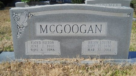MCGOOGAN, HELEN LOUISE - Union County, Arkansas | HELEN LOUISE MCGOOGAN - Arkansas Gravestone Photos