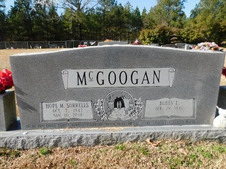 MCGOOGAN, HOPE M - Union County, Arkansas | HOPE M MCGOOGAN - Arkansas Gravestone Photos