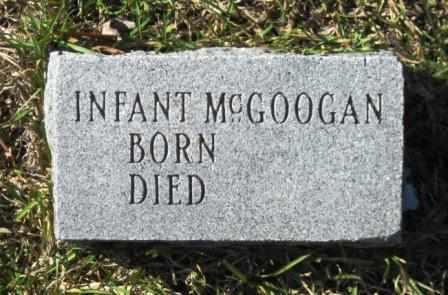 MCGOOGAN, INFANT - Union County, Arkansas   INFANT MCGOOGAN - Arkansas Gravestone Photos