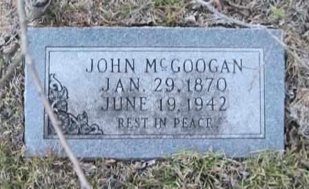 MCGOOGAN, JOHN - Union County, Arkansas | JOHN MCGOOGAN - Arkansas Gravestone Photos
