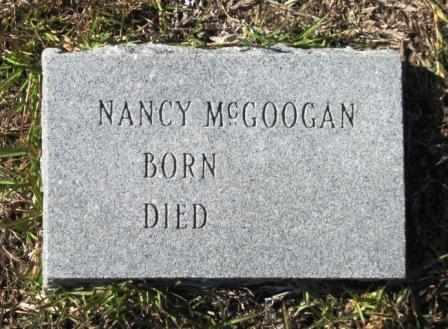 MCGOOGAN, NANCY - Union County, Arkansas | NANCY MCGOOGAN - Arkansas Gravestone Photos
