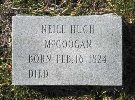 MCGOOGAN, NEILL HUGH - Union County, Arkansas | NEILL HUGH MCGOOGAN - Arkansas Gravestone Photos