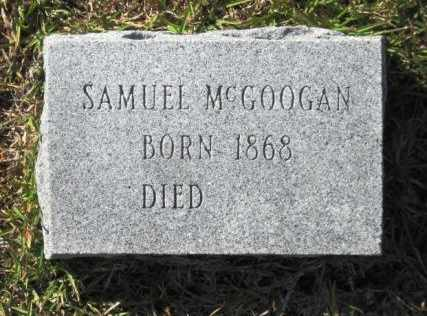 MCGOOGAN, SAMUEL - Union County, Arkansas | SAMUEL MCGOOGAN - Arkansas Gravestone Photos