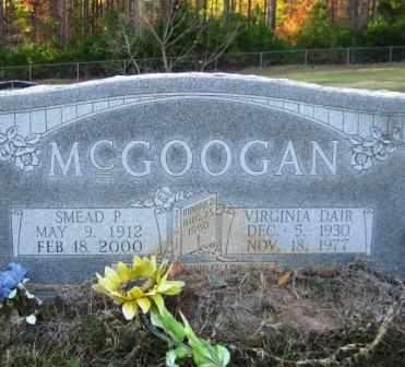 MCGOOGAN, VIRGINIA - Union County, Arkansas | VIRGINIA MCGOOGAN - Arkansas Gravestone Photos