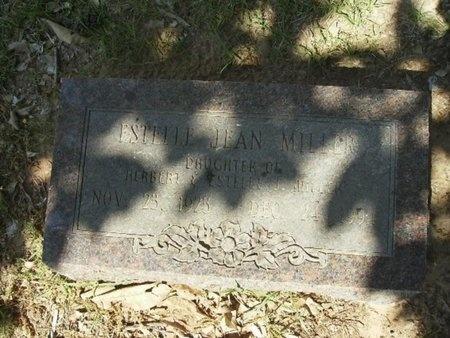 MILLER, ESTELLE JEAN - Union County, Arkansas   ESTELLE JEAN MILLER - Arkansas Gravestone Photos