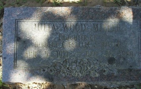 MILLER, JULIA WOOD - Union County, Arkansas | JULIA WOOD MILLER - Arkansas Gravestone Photos