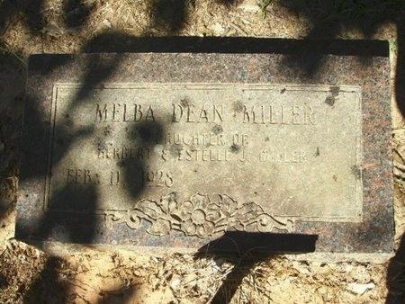 MILLER, MELBA DEAN - Union County, Arkansas | MELBA DEAN MILLER - Arkansas Gravestone Photos