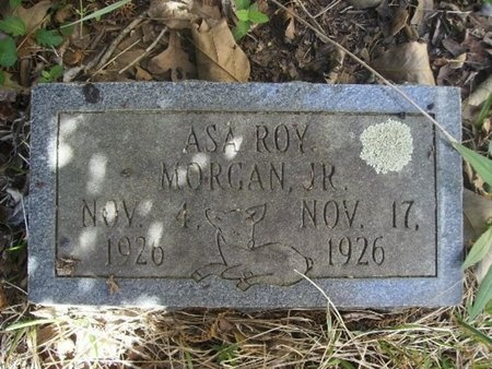 MORGAN, JR, ASA ROY - Union County, Arkansas | ASA ROY MORGAN, JR - Arkansas Gravestone Photos