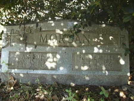 MORGAN, PURNIE - Union County, Arkansas | PURNIE MORGAN - Arkansas Gravestone Photos