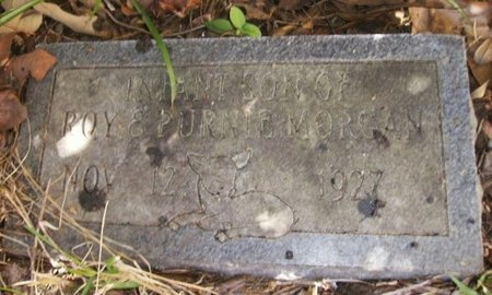 MORGAN, INFANT - Union County, Arkansas   INFANT MORGAN - Arkansas Gravestone Photos