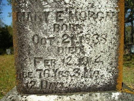 MORGAN, MARY ELLENDER (CLOSEUP) - Union County, Arkansas | MARY ELLENDER (CLOSEUP) MORGAN - Arkansas Gravestone Photos