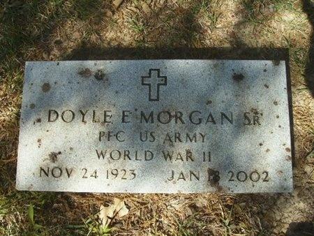 MORGAN SR (VETERAN WWII), DOYLE E, - Union County, Arkansas | DOYLE E, MORGAN SR (VETERAN WWII) - Arkansas Gravestone Photos