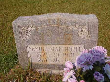 NOBLE, FANNIE MAE - Union County, Arkansas   FANNIE MAE NOBLE - Arkansas Gravestone Photos
