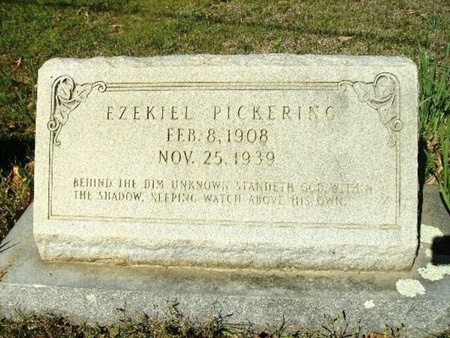 PICKERING, EZEKIAL - Union County, Arkansas | EZEKIAL PICKERING - Arkansas Gravestone Photos