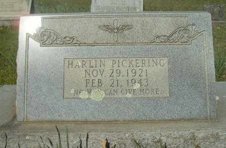PICKERING, HARLIN - Union County, Arkansas | HARLIN PICKERING - Arkansas Gravestone Photos