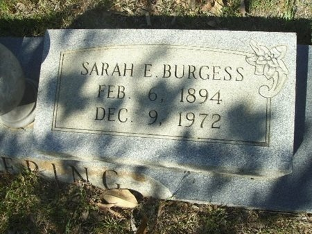 BURGESS PICKERING, SARAH ETHEL - Union County, Arkansas | SARAH ETHEL BURGESS PICKERING - Arkansas Gravestone Photos