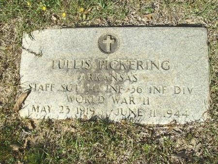 PICKERING (VETERAN WWII), JAMES TULLIS - Union County, Arkansas | JAMES TULLIS PICKERING (VETERAN WWII) - Arkansas Gravestone Photos