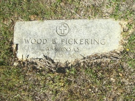 PICKERING (VETERAN WWII), WOOD BEDE - Union County, Arkansas | WOOD BEDE PICKERING (VETERAN WWII) - Arkansas Gravestone Photos