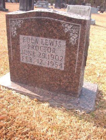 LEWIS PROCTOR, EULA - Union County, Arkansas | EULA LEWIS PROCTOR - Arkansas Gravestone Photos