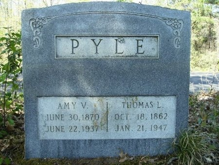 PYLE, AMY VIRGINIA - Union County, Arkansas | AMY VIRGINIA PYLE - Arkansas Gravestone Photos
