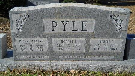 PYLE, BERTIE F - Union County, Arkansas | BERTIE F PYLE - Arkansas Gravestone Photos