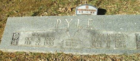 MORGAN PYLE, ALMA V - Union County, Arkansas | ALMA V MORGAN PYLE - Arkansas Gravestone Photos