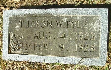 PYLE, THERON W - Union County, Arkansas | THERON W PYLE - Arkansas Gravestone Photos