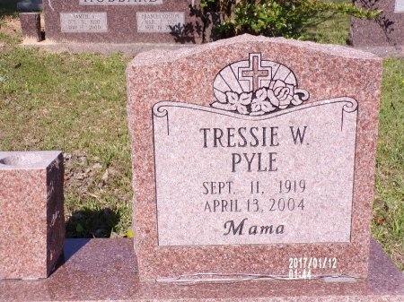 PYLE, TRESSIE W - Union County, Arkansas | TRESSIE W PYLE - Arkansas Gravestone Photos