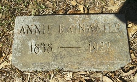 RAINWATER, CATHERINE ANNA - Union County, Arkansas | CATHERINE ANNA RAINWATER - Arkansas Gravestone Photos