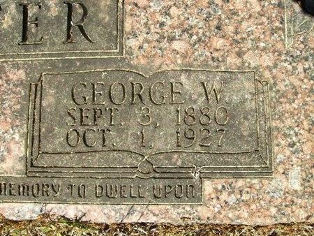 RAINWATER, GEORGE WASHINGTON (CLOSEUP) - Union County, Arkansas | GEORGE WASHINGTON (CLOSEUP) RAINWATER - Arkansas Gravestone Photos