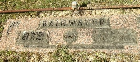 MOORE RAINWATER, IDA FLORENCE - Union County, Arkansas | IDA FLORENCE MOORE RAINWATER - Arkansas Gravestone Photos
