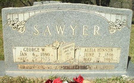 SAWYER, GEORGE W - Union County, Arkansas | GEORGE W SAWYER - Arkansas Gravestone Photos