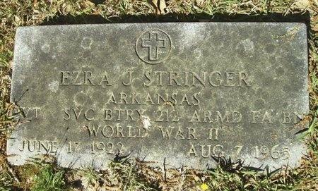 STRINGER (VETERAN WWII), EZRA JACKSON - Union County, Arkansas | EZRA JACKSON STRINGER (VETERAN WWII) - Arkansas Gravestone Photos