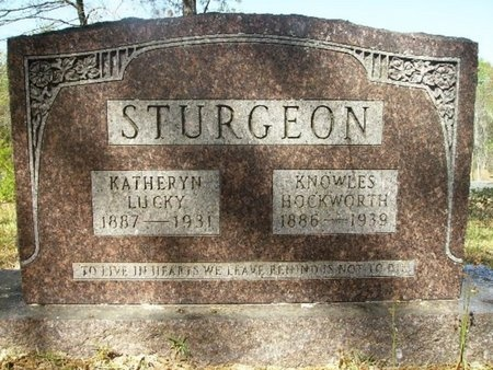 STURGEON, KATHERYN EUGENIA - Union County, Arkansas | KATHERYN EUGENIA STURGEON - Arkansas Gravestone Photos