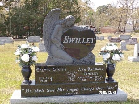 SWILLEY, ANA BARBARA - Union County, Arkansas | ANA BARBARA SWILLEY - Arkansas Gravestone Photos