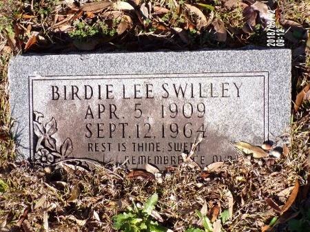SWILLEY, BIRDIE LEE - Union County, Arkansas | BIRDIE LEE SWILLEY - Arkansas Gravestone Photos
