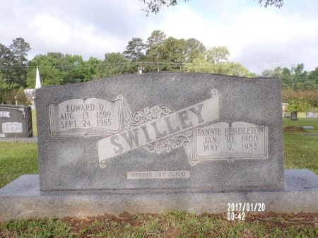 SWILLEY, EDWARD D - Union County, Arkansas | EDWARD D SWILLEY - Arkansas Gravestone Photos