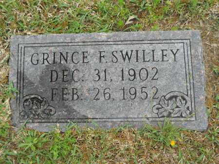 SWILLEY, GRINCE F - Union County, Arkansas | GRINCE F SWILLEY - Arkansas Gravestone Photos
