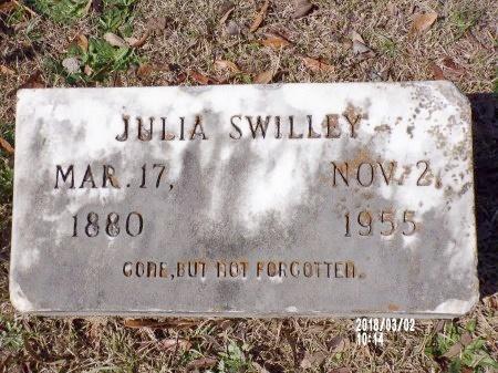 SWILLEY, JULIA - Union County, Arkansas | JULIA SWILLEY - Arkansas Gravestone Photos