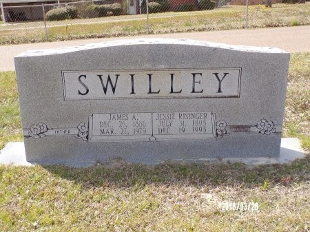 SWILLEY, JAMES ARTHUR - Union County, Arkansas | JAMES ARTHUR SWILLEY - Arkansas Gravestone Photos